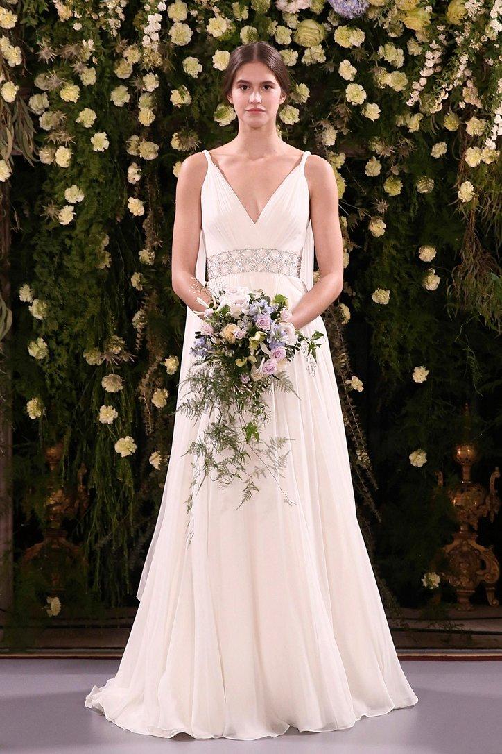 Vera Wang 2019: свадебные платья, фото изоражения