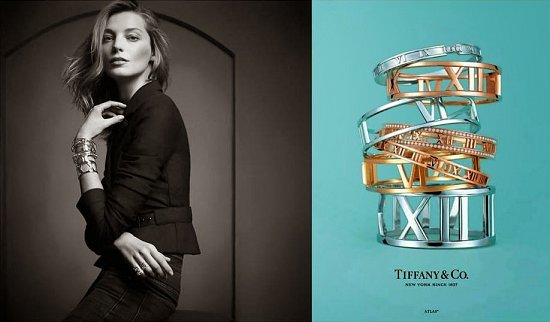 Дарья Вербова в новой рекламной кампании Tiffany & Co