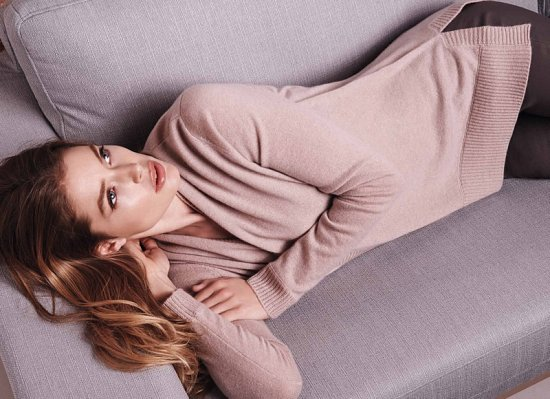 Даутцен Крус в рекламе Repeat Cashmere осень-зима 2015-2016 фото №4