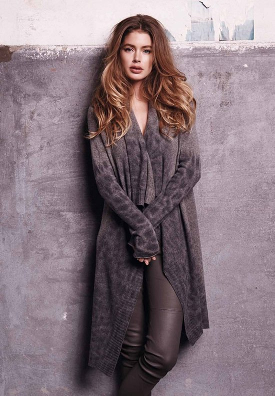 Даутцен Крус в рекламе Repeat Cashmere осень-зима 2015-2016 фото №14