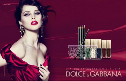 Коллекция макияжа Dolce & Gabbana Kohl Makeup Collectio весна 2012