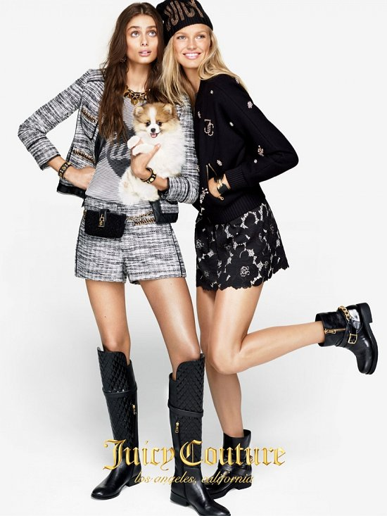 Лукбук Juicy Couture осень-зима 2015-2016 фото №3