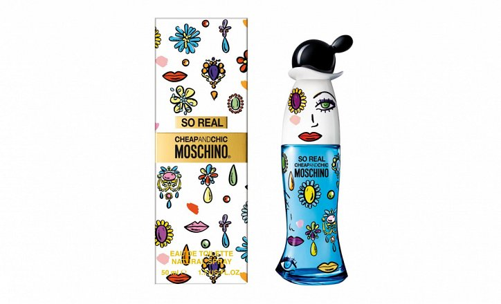 Новинка от Moschino: аромат Real Cheap  фото №1