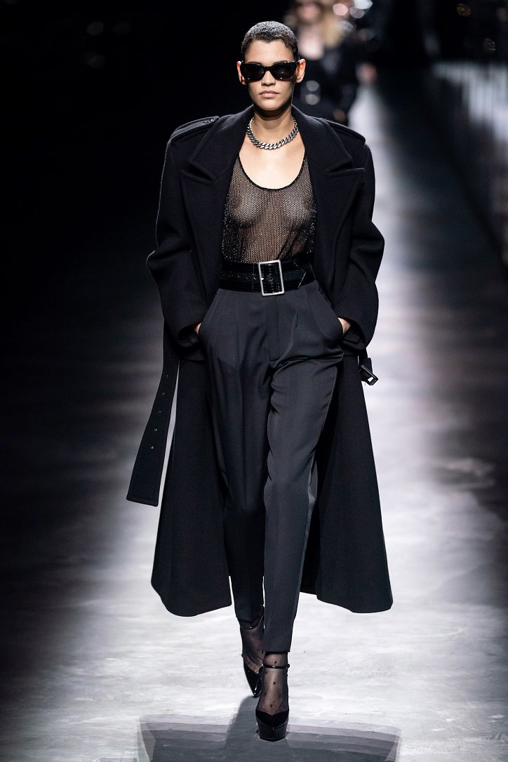 Коллекция Saint Laurent осень-зима 2019-2020 фото №3