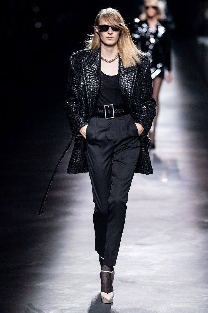 Коллекция Saint Laurent осень-зима 2019-2020 фото №4