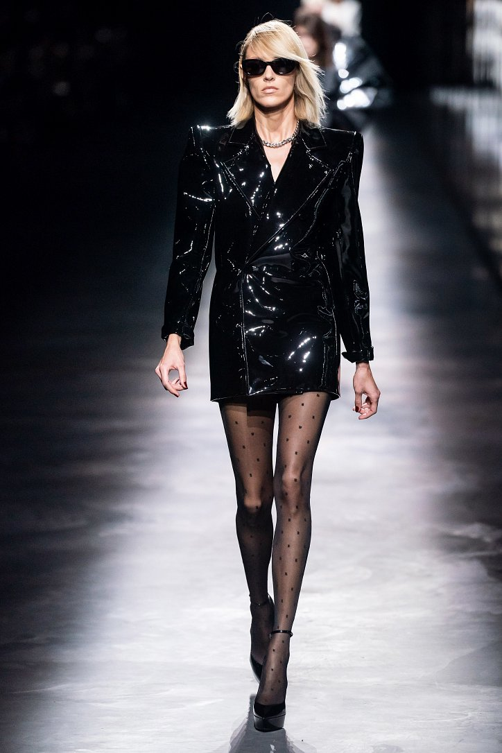 Коллекция Saint Laurent осень-зима 2019-2020 фото №5