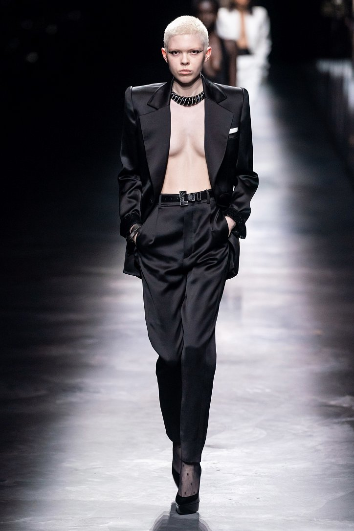 Коллекция Saint Laurent осень-зима 2019-2020 фото №7