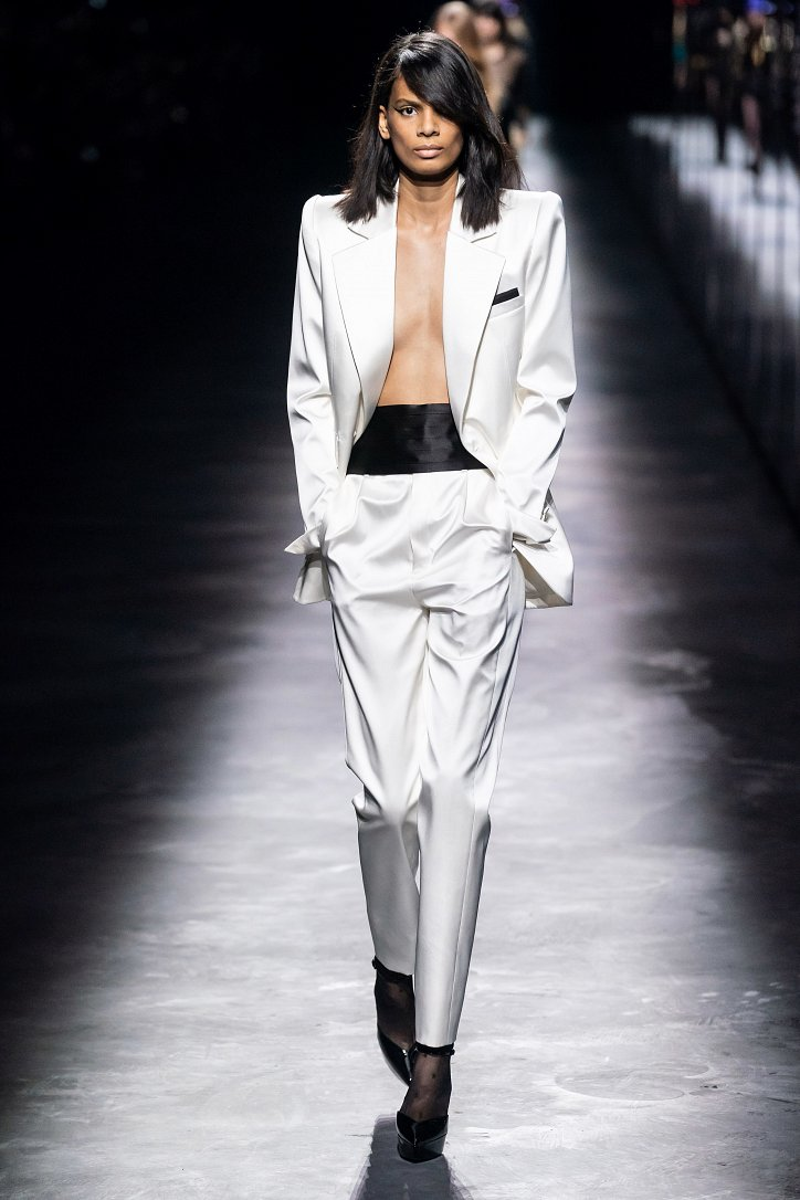 Коллекция Saint Laurent осень-зима 2019-2020 фото №9