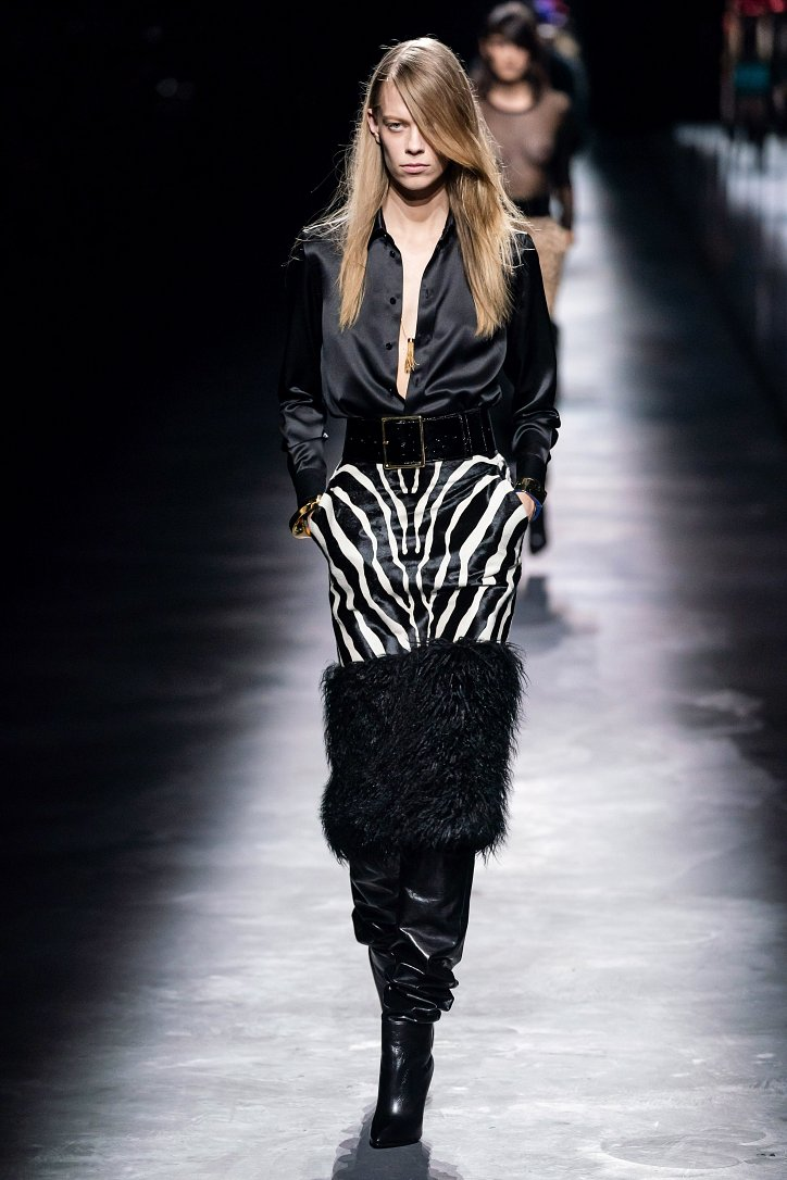 Коллекция Saint Laurent осень-зима 2019-2020 фото №10
