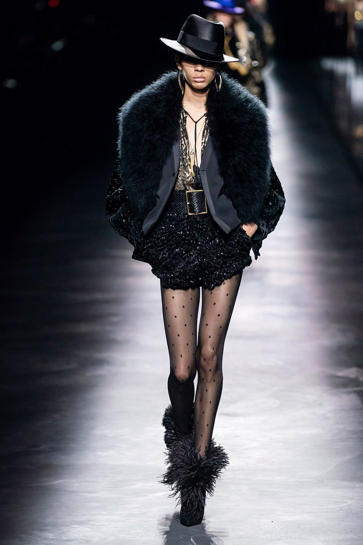 Коллекция Saint Laurent осень-зима 2019-2020 фото №12
