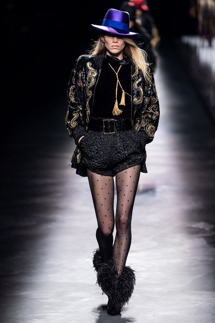 Коллекция Saint Laurent осень-зима 2019-2020 фото №13