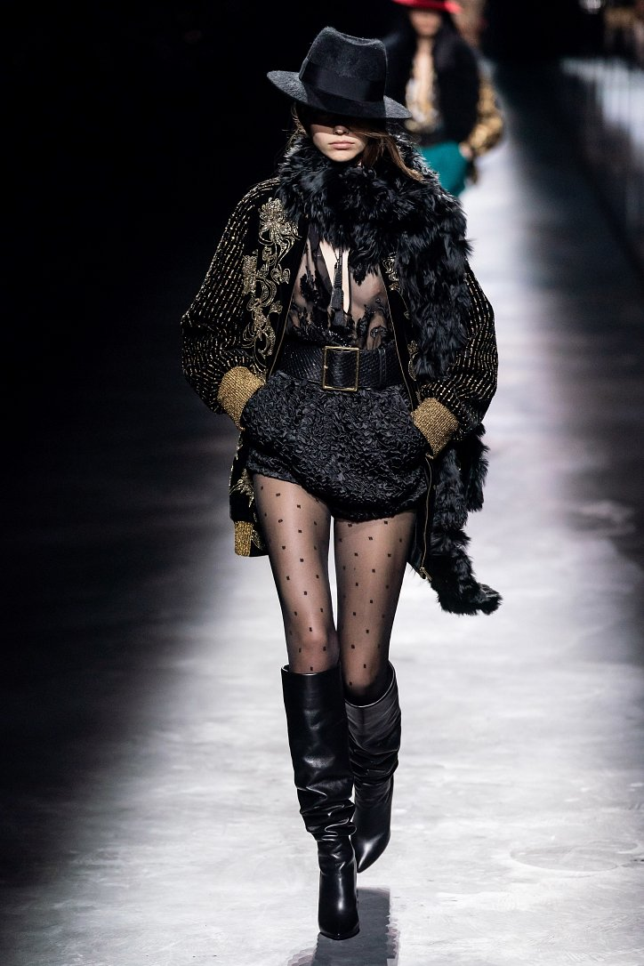 Коллекция Saint Laurent осень-зима 2019-2020 фото №14