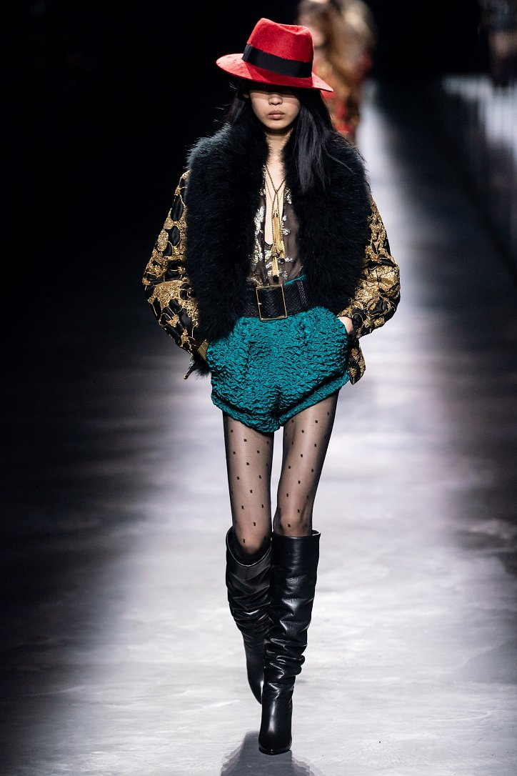 Коллекция Saint Laurent осень-зима 2019-2020 фото №15