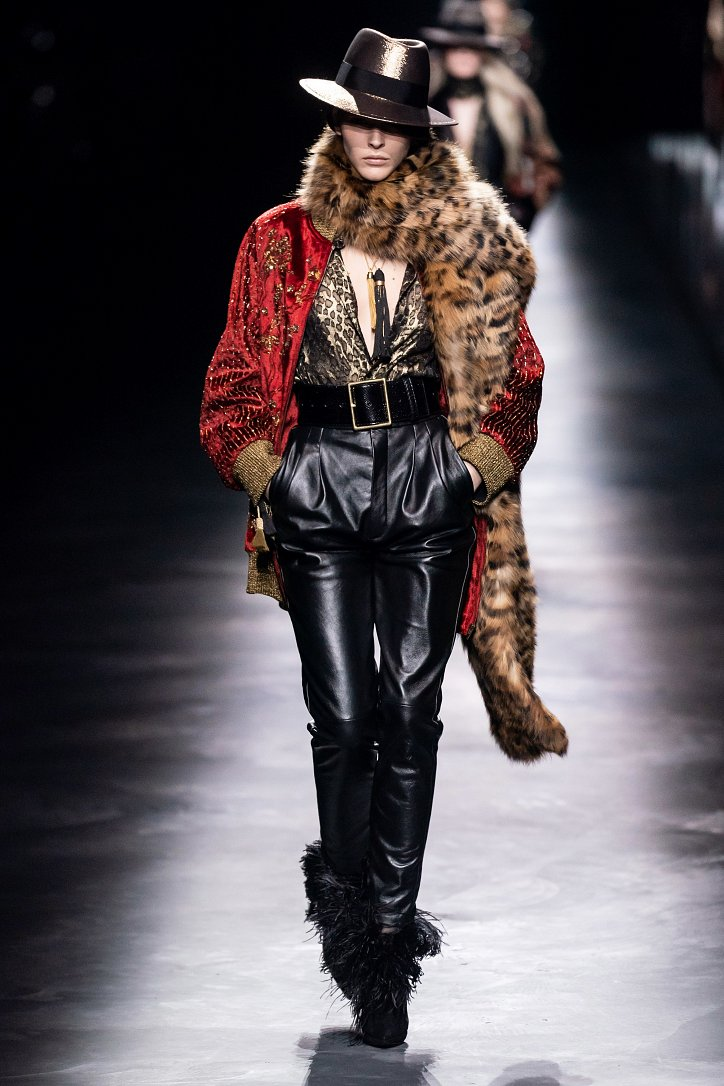 Коллекция Saint Laurent осень-зима 2019-2020 фото №17