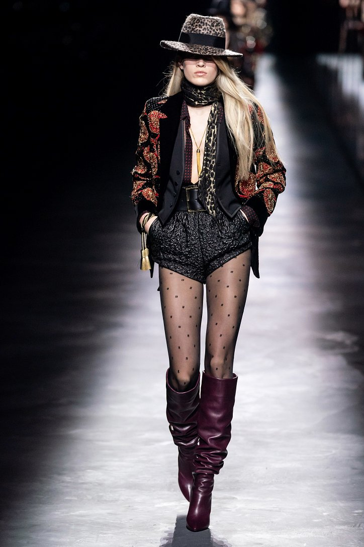 Коллекция Saint Laurent осень-зима 2019-2020 фото №18