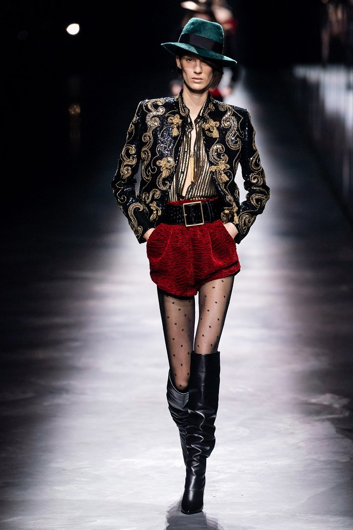 Коллекция Saint Laurent осень-зима 2019-2020 фото №21