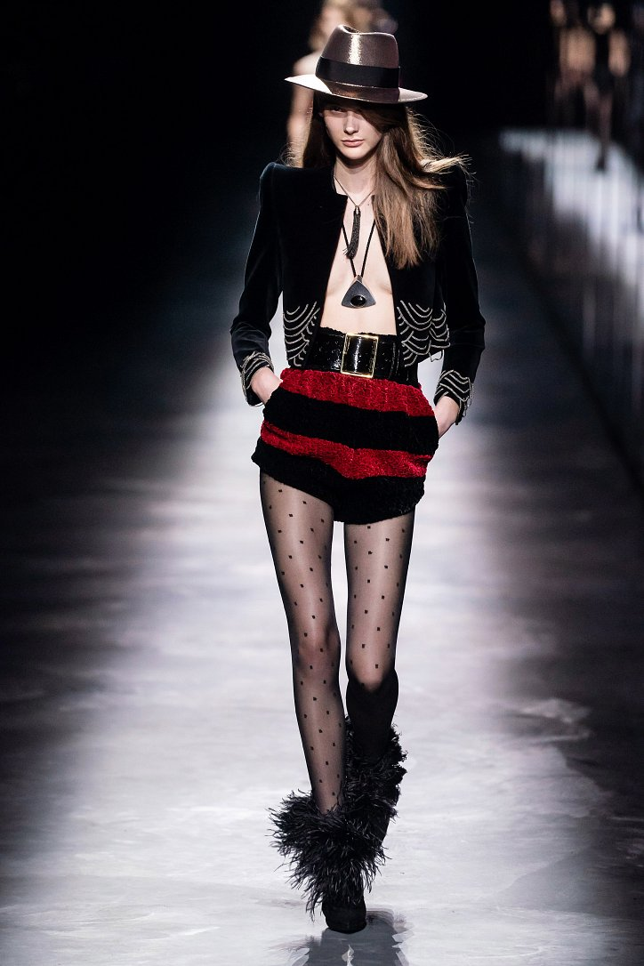 Коллекция Saint Laurent осень-зима 2019-2020 фото №22