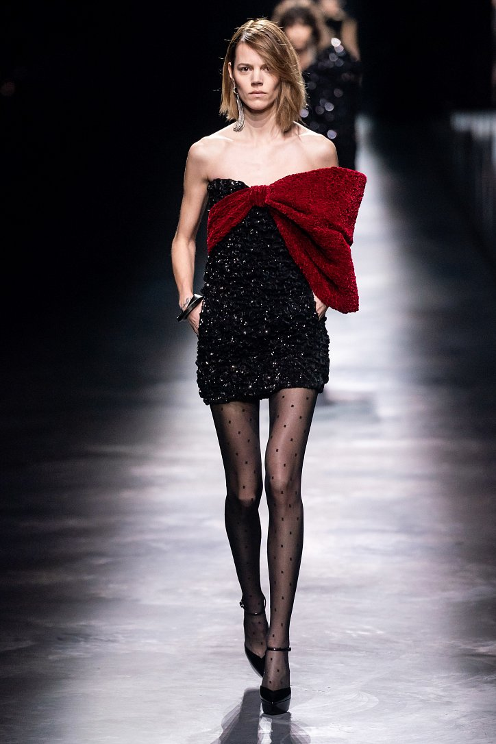 Коллекция Saint Laurent осень-зима 2019-2020 фото №23