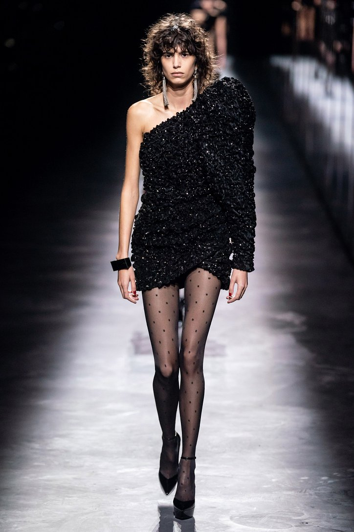 Коллекция Saint Laurent осень-зима 2019-2020 фото №24