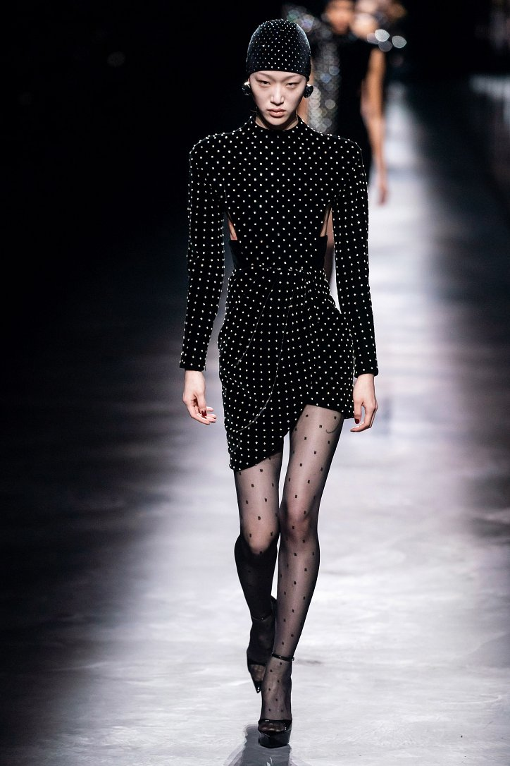 Коллекция Saint Laurent осень-зима 2019-2020 фото №28