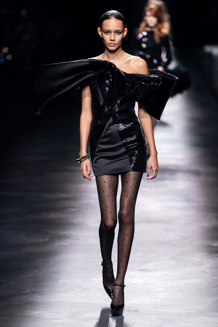 Коллекция Saint Laurent осень-зима 2019-2020 фото №30