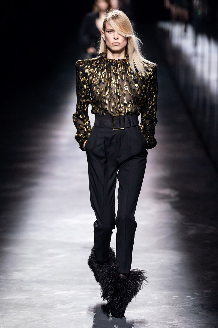 Коллекция Saint Laurent осень-зима 2019-2020 фото №36
