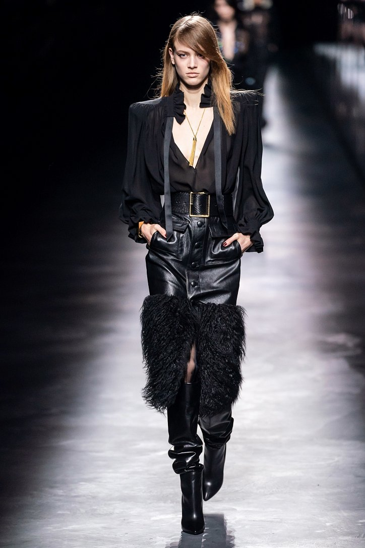 Коллекция Saint Laurent осень-зима 2019-2020 фото №37