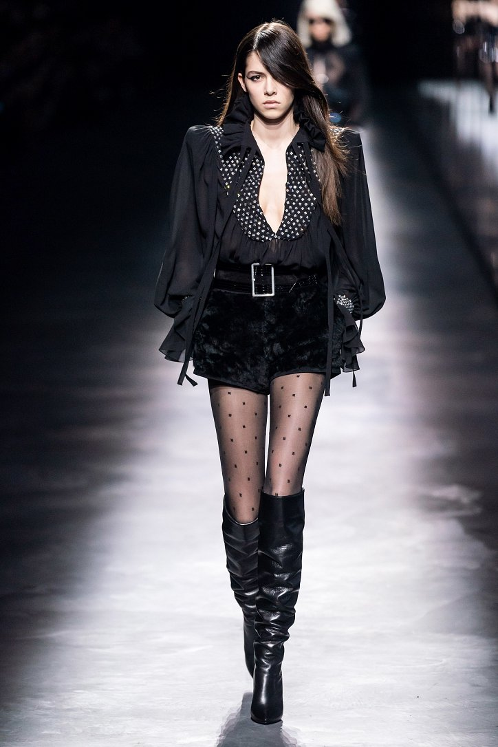 Коллекция Saint Laurent осень-зима 2019-2020 фото №38