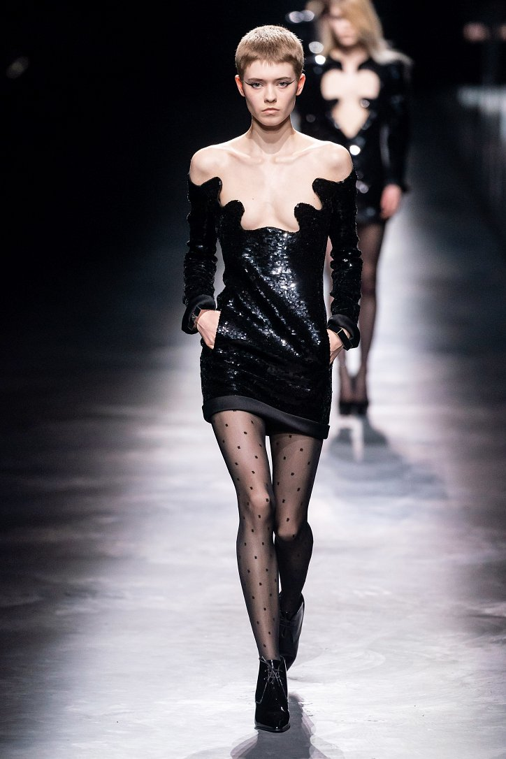 Коллекция Saint Laurent осень-зима 2019-2020 фото №42