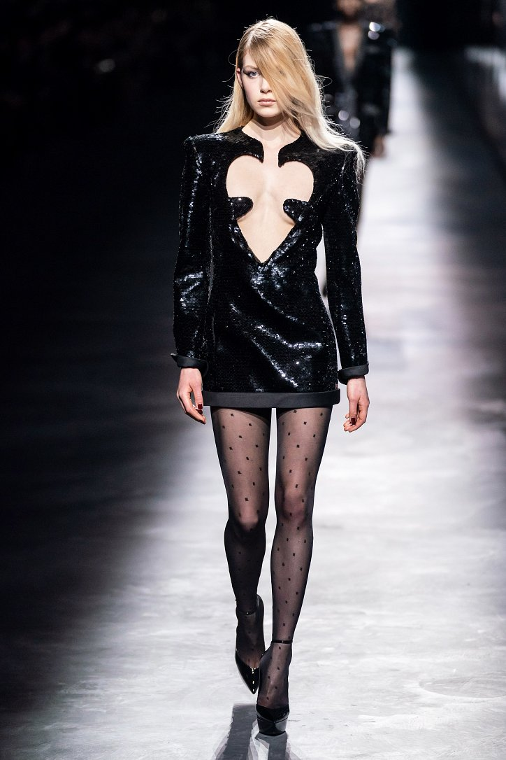 Коллекция Saint Laurent осень-зима 2019-2020 фото №43