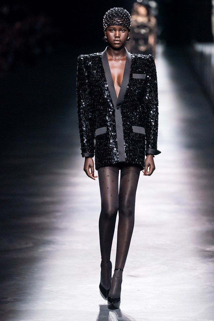 Коллекция Saint Laurent осень-зима 2019-2020 фото №44