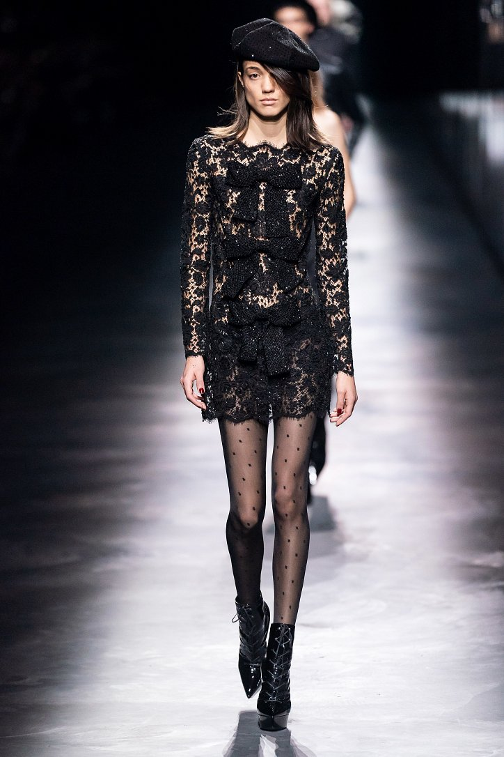 Коллекция Saint Laurent осень-зима 2019-2020 фото №45