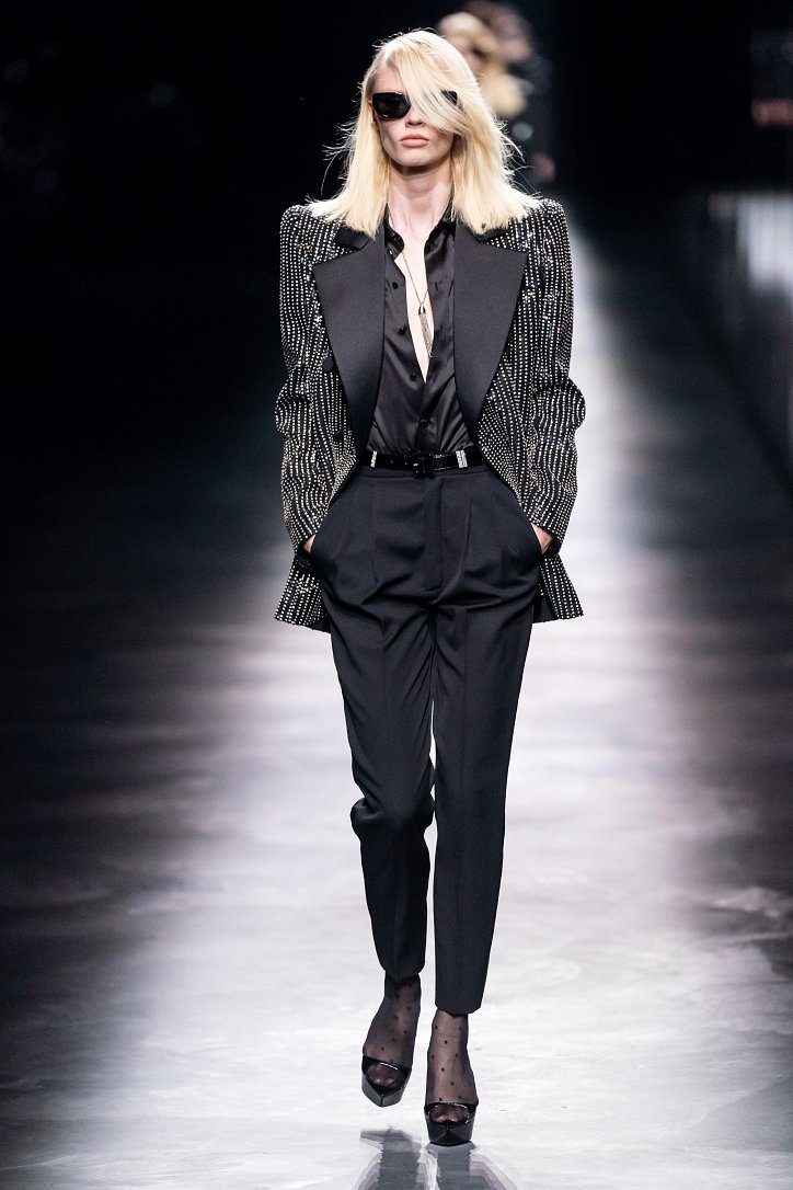 Коллекция Saint Laurent осень-зима 2019-2020 фото №47