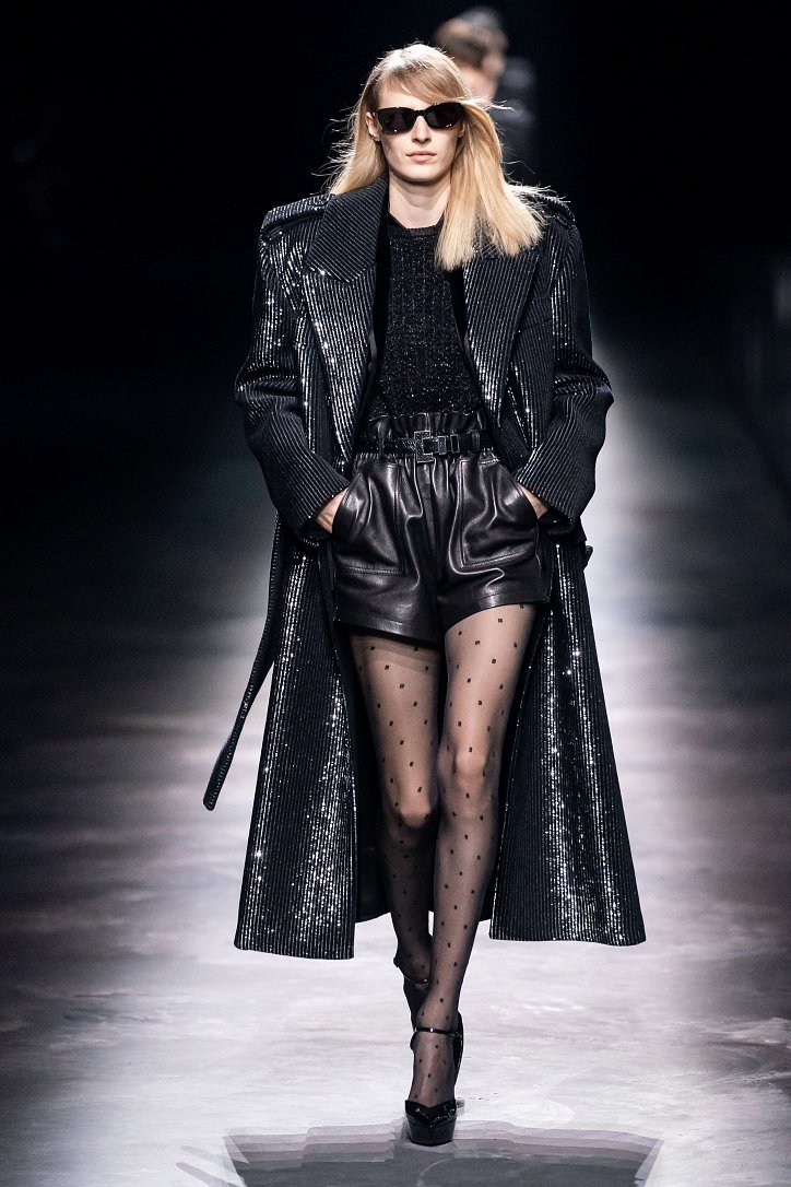 Коллекция Saint Laurent осень-зима 2019-2020 фото №48