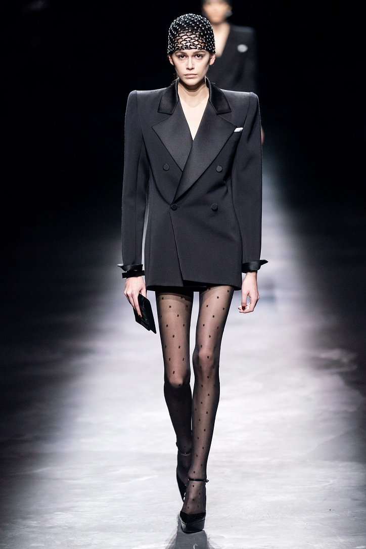 Коллекция Saint Laurent осень-зима 2019-2020 фото №50