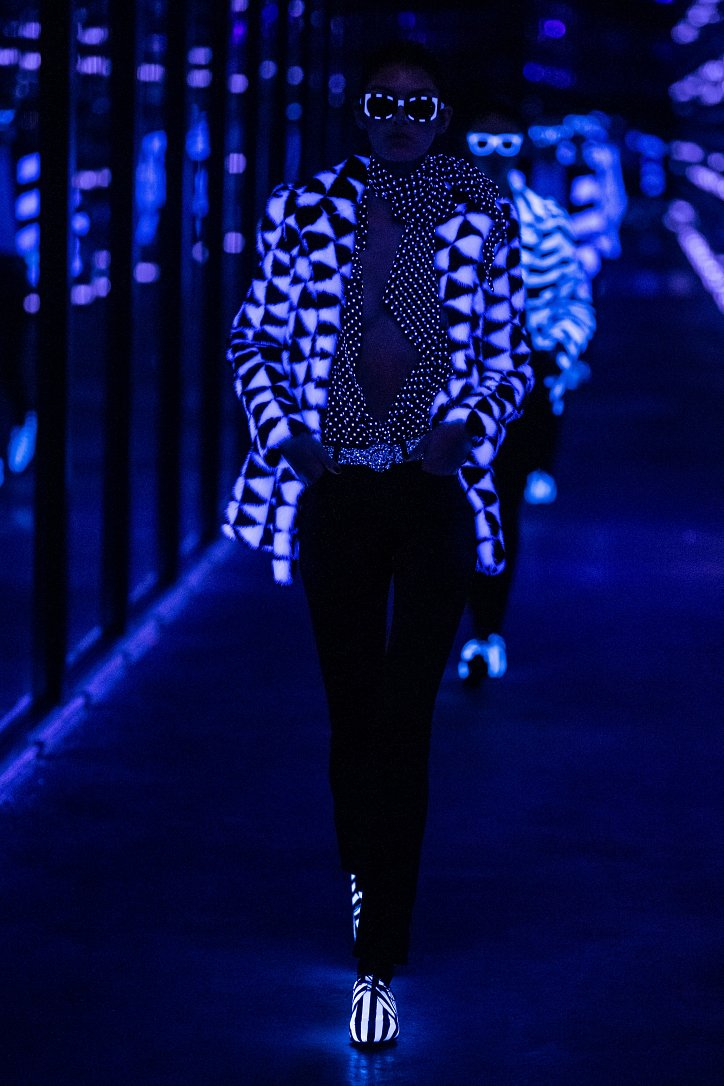 Коллекция Saint Laurent осень-зима 2019-2020 фото №58