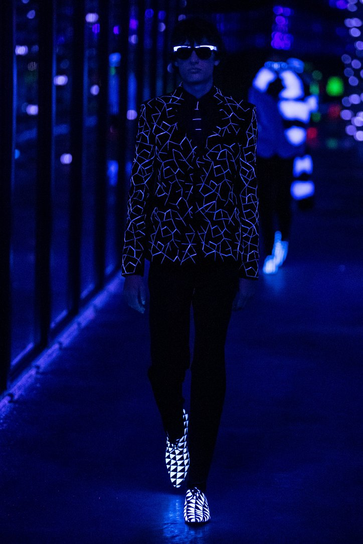 Коллекция Saint Laurent осень-зима 2019-2020 фото №63