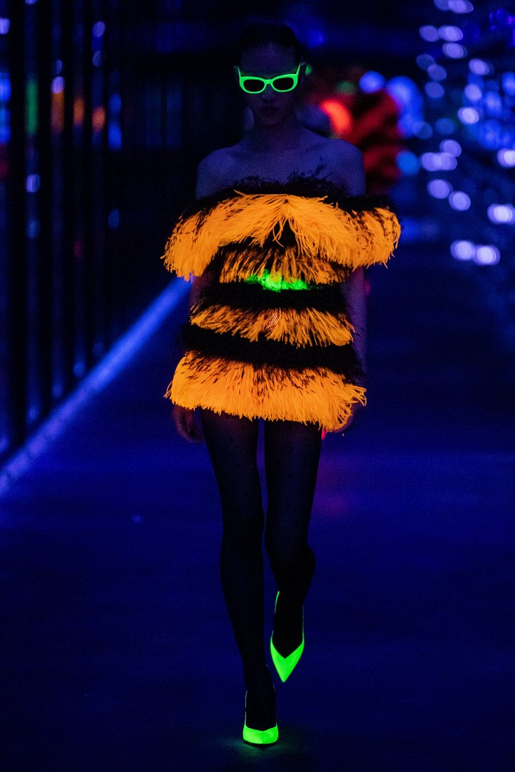Коллекция Saint Laurent осень-зима 2019-2020 фото №75