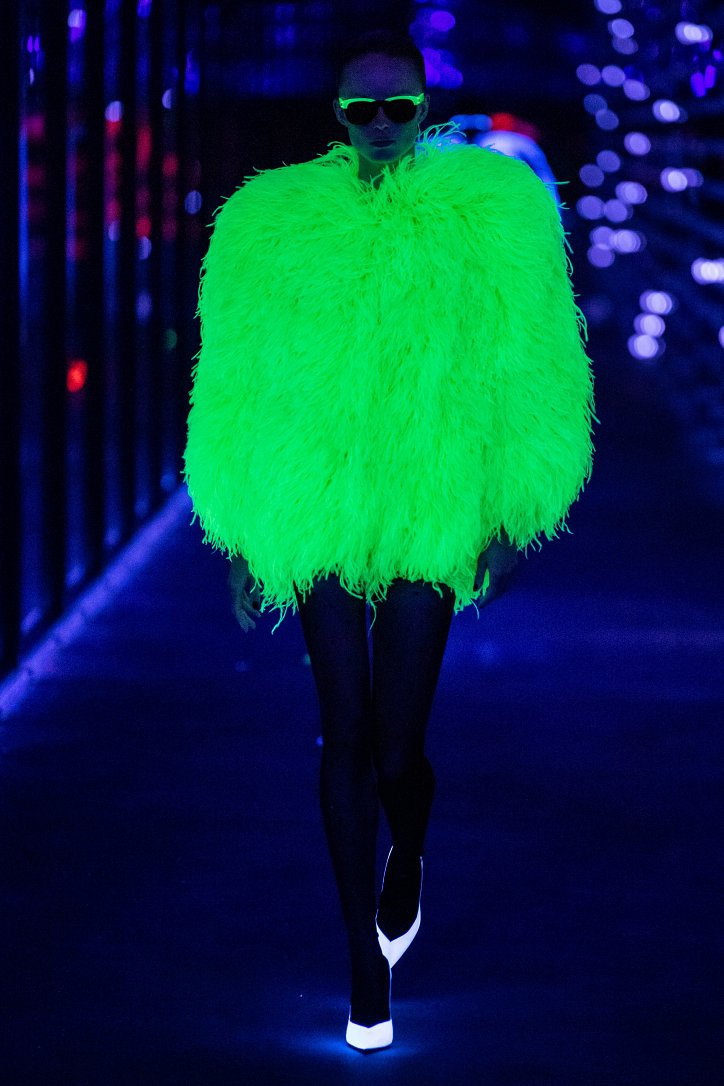 Коллекция Saint Laurent осень-зима 2019-2020 фото №82