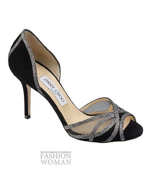Сумки и обувь Jimmy Choo осень-зима 2014-2015 фото №46