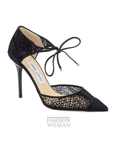 Сумки и обувь Jimmy Choo осень-зима 2014-2015 фото №52