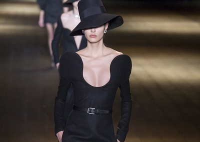 Коллекция Saint Laurent осень-зима 2018-2019