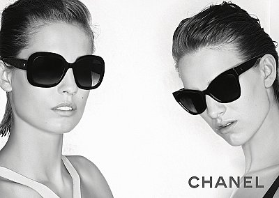 Рекламная кампания линии очков Chanel Prestige Collection
