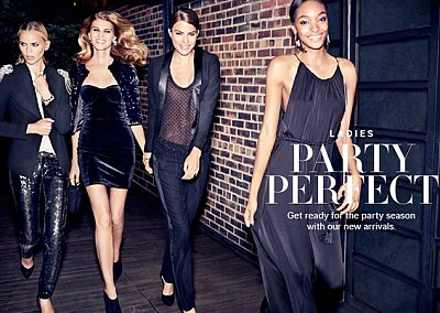 Лукбук H&M Party Perfect