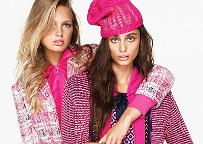 Лукбук Juicy Couture осень-зима 2015-2016